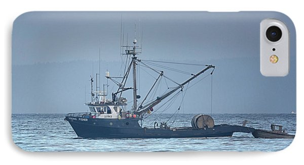 IPhone Case featuring the photograph Viking Fisher 3 by Randy Hall