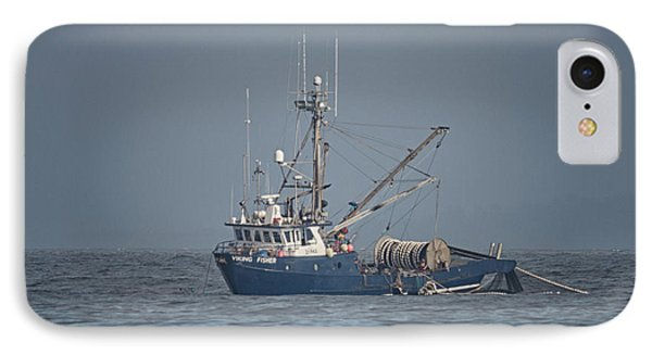 IPhone Case featuring the photograph Viking Fisher 4 by Randy Hall