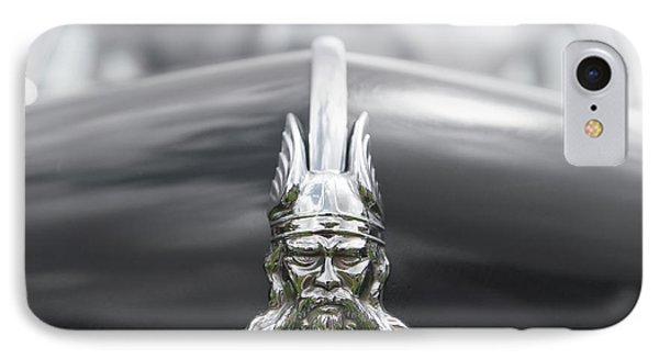 Viking Hood Ornament II IPhone Case by Helen Northcott