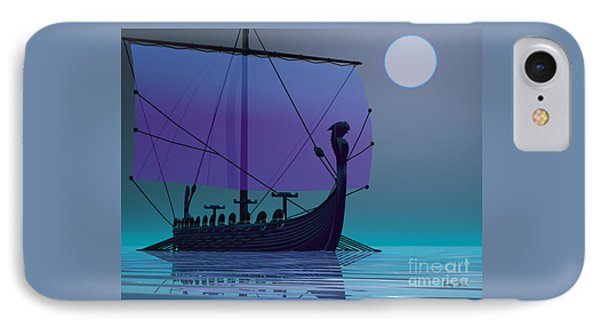 Viking Journey IPhone Case by Corey Ford