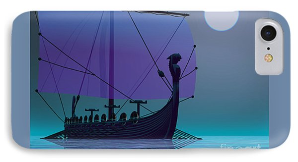 Viking Journey Phone Case by Corey Ford