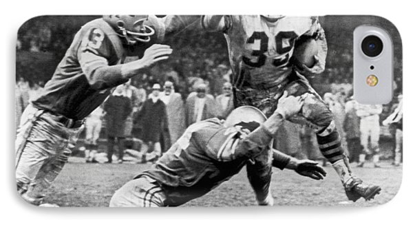Viking Mcelhanny Gets Tackled IPhone Case by Underwood Archives