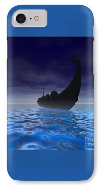 Viking Ship Phone Case by Corey Ford