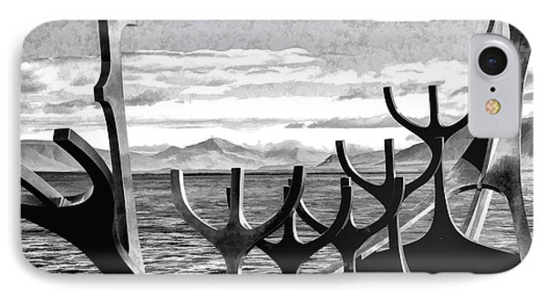 IPhone Case featuring the photograph Viking Tribute by Rick Bragan