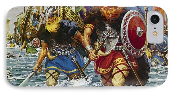 Vikings IPhone Case by Jack Keay