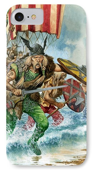 Vikings Phone Case by Pete Jackson