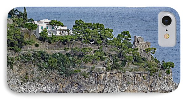 Villa Owned By Sophia Loren On The Amalfi Coast In Italy IPhone Case by Richard Rosenshein