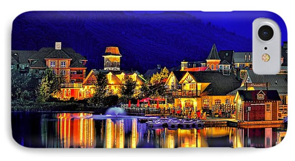Village At Blue Hour IPhone Case