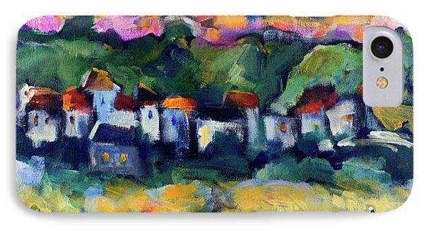 Village At Sunset IPhone Case by Maxim Komissarchik