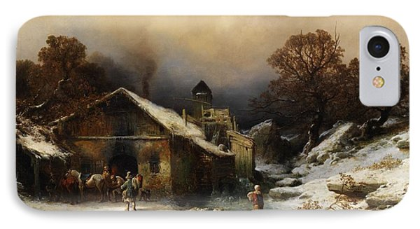 Village IPhone Case by Celestial Images