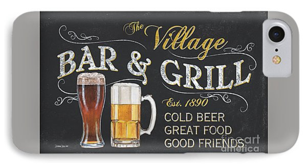 Village Bar And Grill IPhone Case