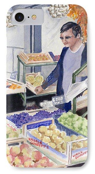 Village Grocer IPhone Case by Marsha Elliott