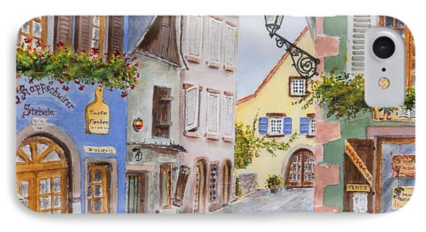 Village In Alsace IPhone Case by Mary Ellen Mueller Legault
