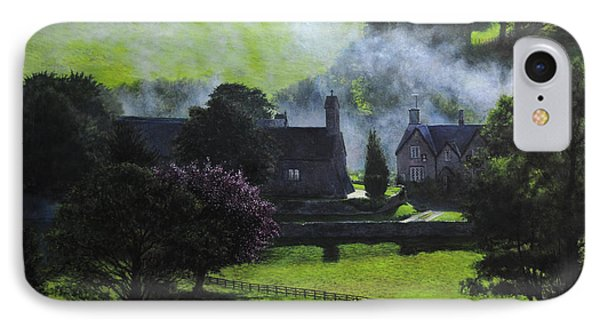 Village In North Wales IPhone Case