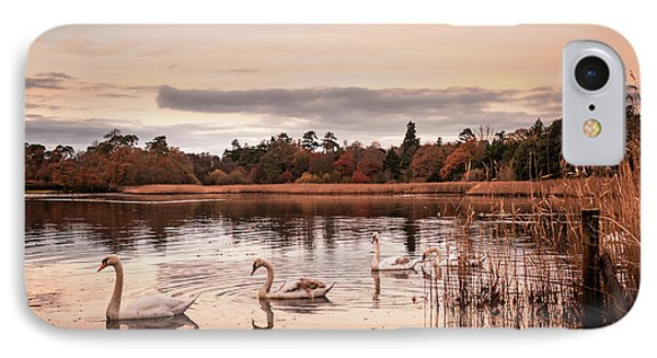 Village Lake IPhone Case by Svetlana Sewell