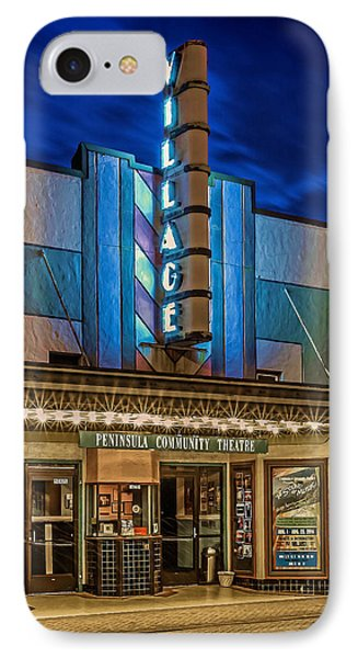 Village Theater IPhone Case by Jerry Gammon