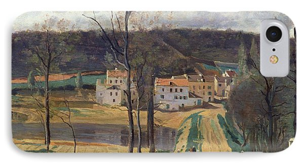 Ville Davray Phone Case by Jean Baptiste Camille Corot