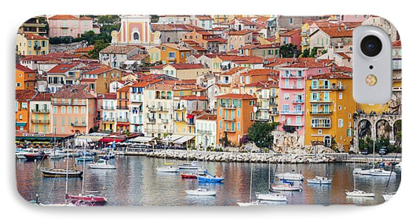 Villefranche-sur-mer View In French Riviera IPhone Case by Elena Elisseeva