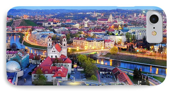 IPhone Case featuring the photograph Vilnius by Fabrizio Troiani