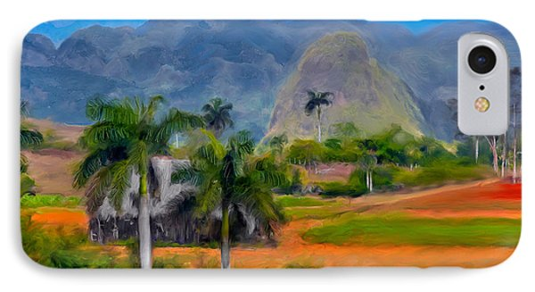 IPhone Case featuring the photograph Vinales Valley. Cuba by Juan Carlos Ferro Duque
