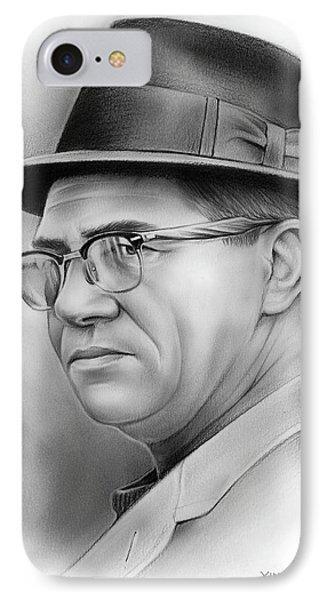 Vince Lombardi IPhone Case by Greg Joens