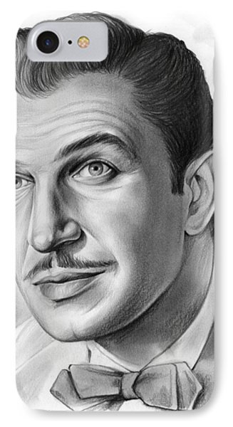 Vincent Price IPhone Case by Greg Joens