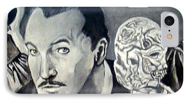 Vincent Price IPhone Case by Paul Weerasekera