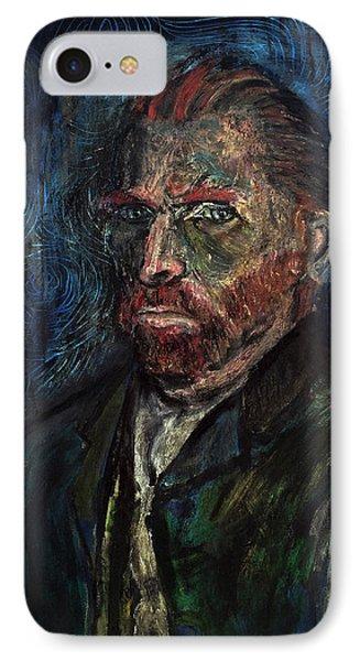 Vincent Van Gogh    Phone Case by Antonio Ortiz