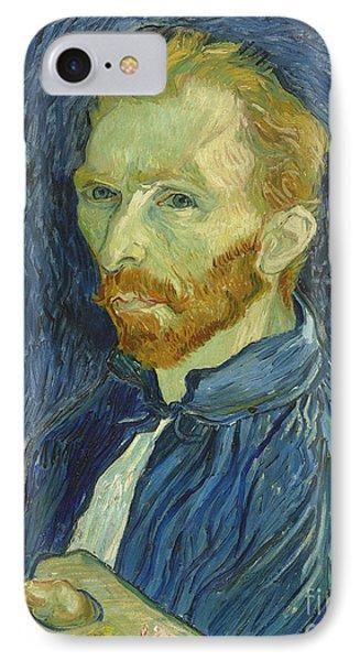 Vincent Van Gogh Self-portrait 1889 IPhone Case