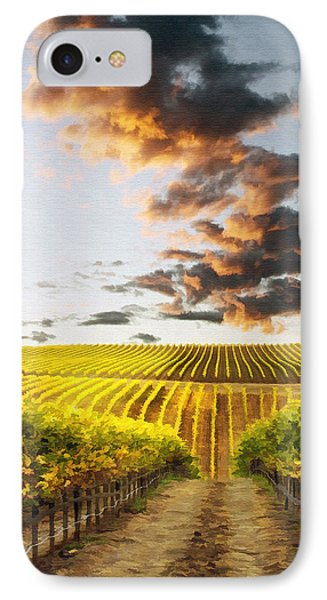 Vineard Aglow Phone Case by Sharon Foster