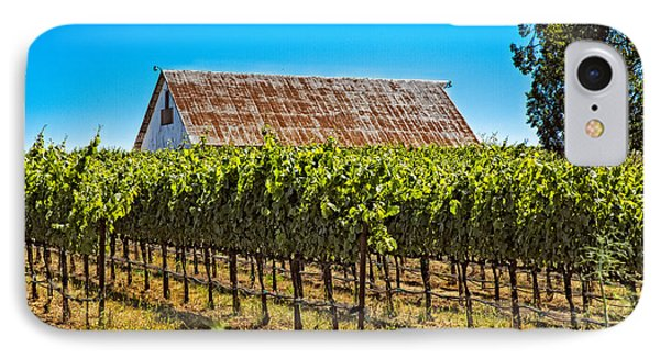 IPhone Case featuring the photograph Vines And Barn by Kim Wilson