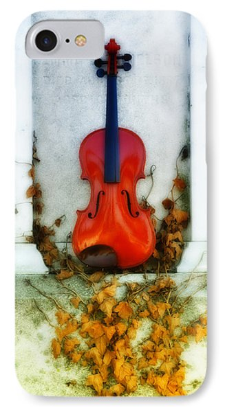 Vines And Violin Phone Case by Bill Cannon