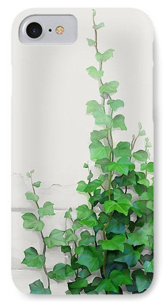 Vines By The Wall IPhone Case by Ivana