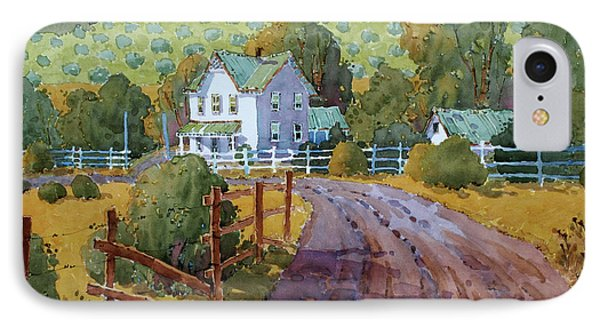 Vineyard Farm In Cambria IPhone Case by Joyce Hicks
