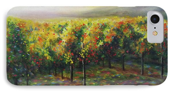 Vineyard Glow IPhone Case by Becky Chappell