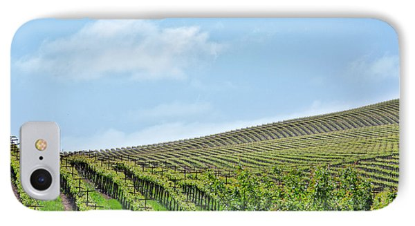 IPhone Case featuring the photograph Vineyard Hillside by Kim Wilson