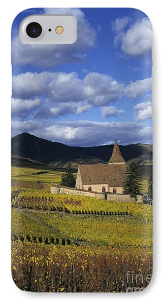 Vineyard In Alsace, France IPhone Case by Jean-Louis Klein & Marie-Luce Hubert