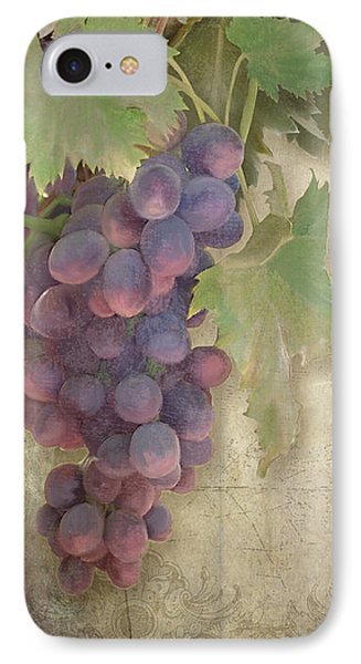 Vineyard Series - Chateau Pinot Noir Vineyards Sign IPhone Case by Audrey Jeanne Roberts