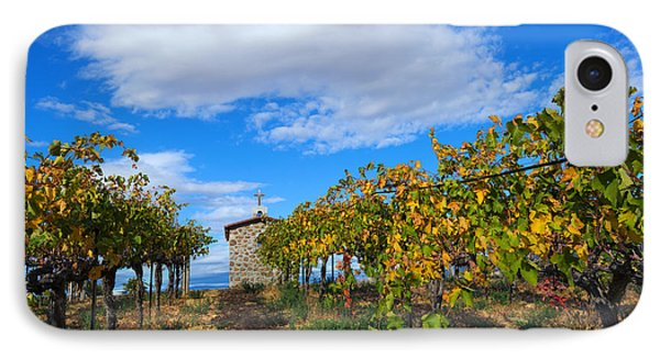 Vineyard Temple IPhone Case by Mike Dawson