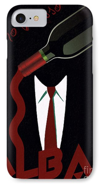 Vino Rosso  IPhone Case by Cinema Photography
