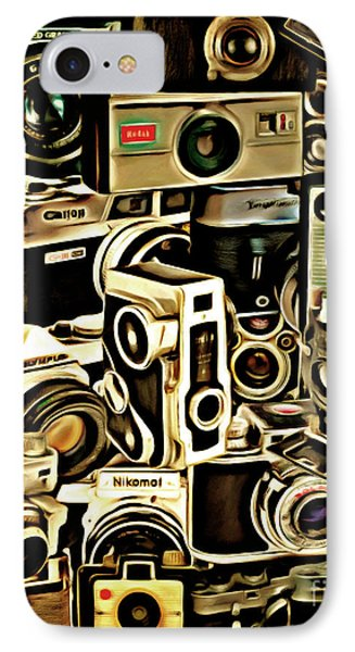 Vintage Abstract Photography 20150208 V1 Vertical IPhone Case by Home Decor