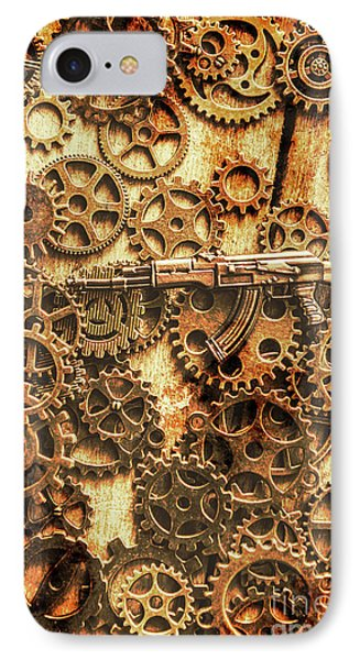 Vintage Ak-47 Artwork IPhone Case