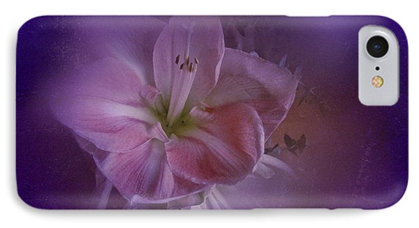 IPhone Case featuring the photograph Vintage Amaryllis No. 3 by Richard Cummings