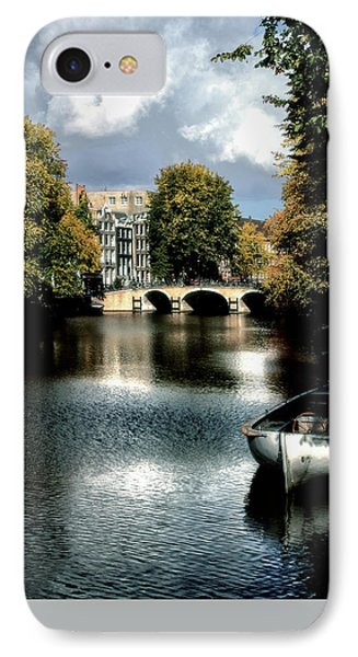 IPhone Case featuring the photograph Vintage Amsterdam by Jim Hill