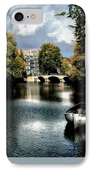 Vintage Amsterdam IPhone Case by Jim Hill