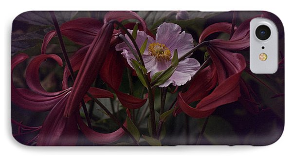 Vintage Asiatic Lilies  IPhone Case by Richard Cummings