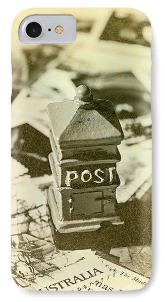 Vintage Australian Postage Art IPhone Case by Jorgo Photography - Wall Art Gallery