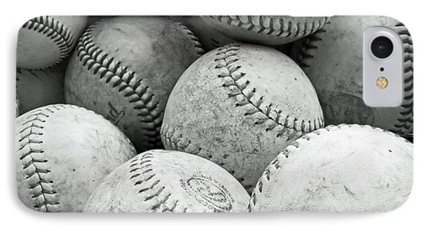 IPhone Case featuring the photograph Vintage Baseballs by Brooke T Ryan