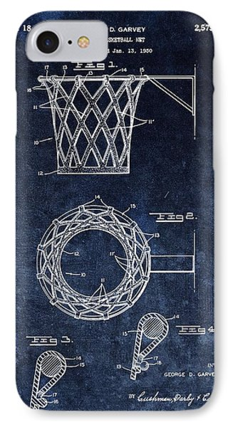 Vintage Basketball Net Patent IPhone Case