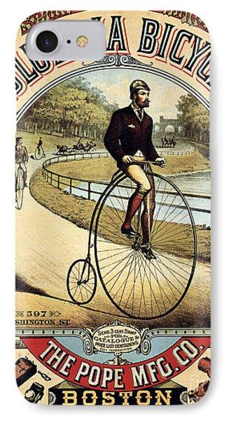 Vintage Bicycle Advertisement IPhone Case